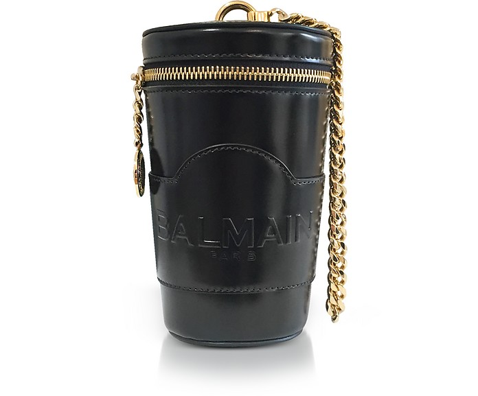 59937756 Balmain Black Mini Star Crossbody Bag at FORZIERI