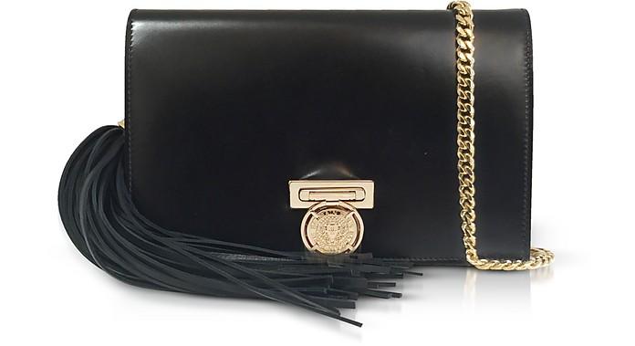 Black Leather Mini BBox Clutch - Balmain