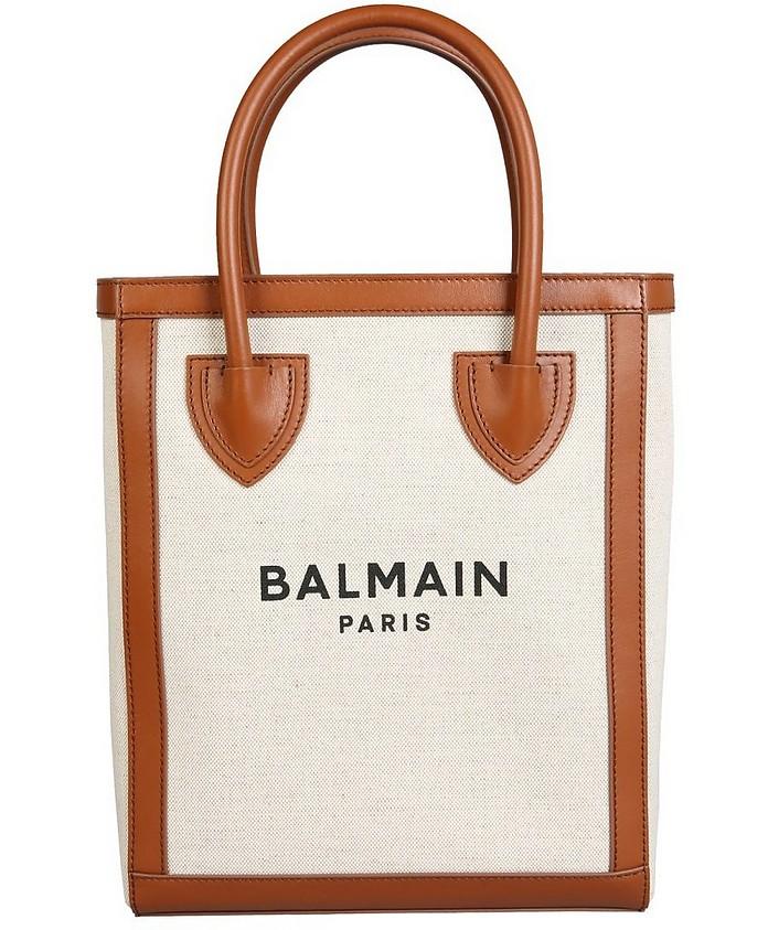 B-Army Linen Tote Bag - Balmain