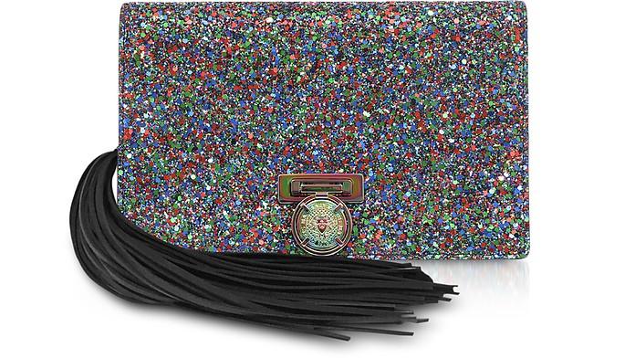 Multicolor Glitter BBox Mini Pouch - Balmain