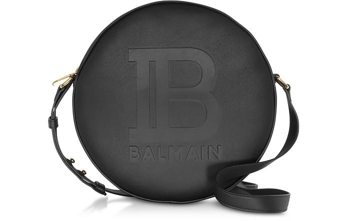 Large Black Disco Shoulder Bag - Balmain