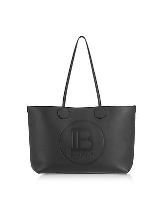 869b282f747 Genuine Leather Small Tote Bag - Balmain