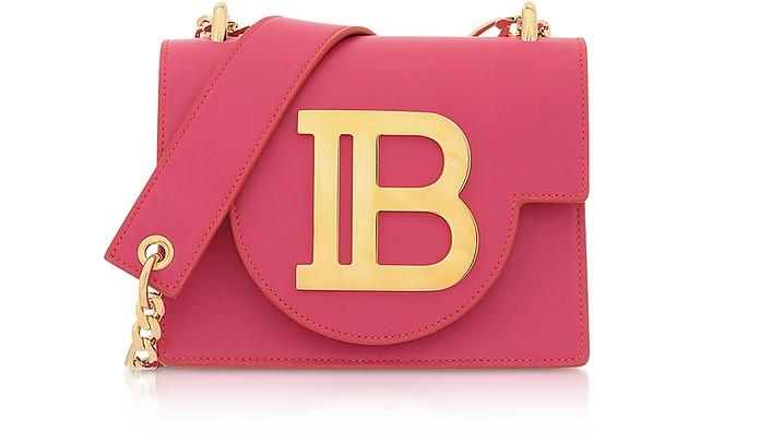 B-Bag 18 Schultertasche aus Leder - Balmain