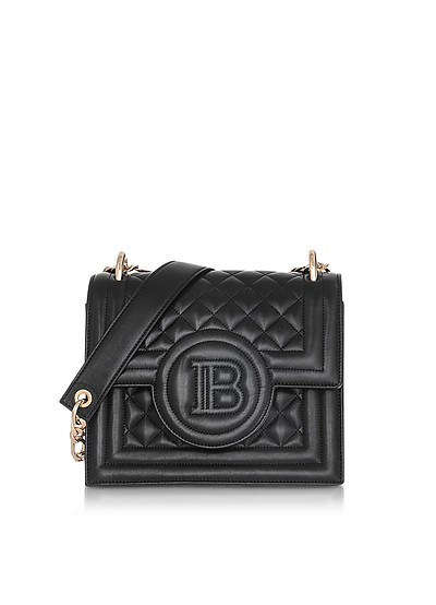 Quilted Leather B-Bag 21 - Balmain