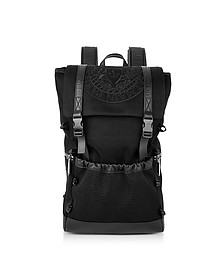 Black Nylon Men's Climb Backpack - Balmain