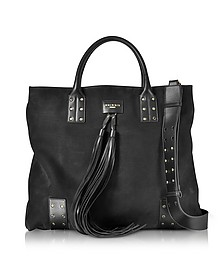 Domaine Nubuck Men's Shopping Bag - Balmain