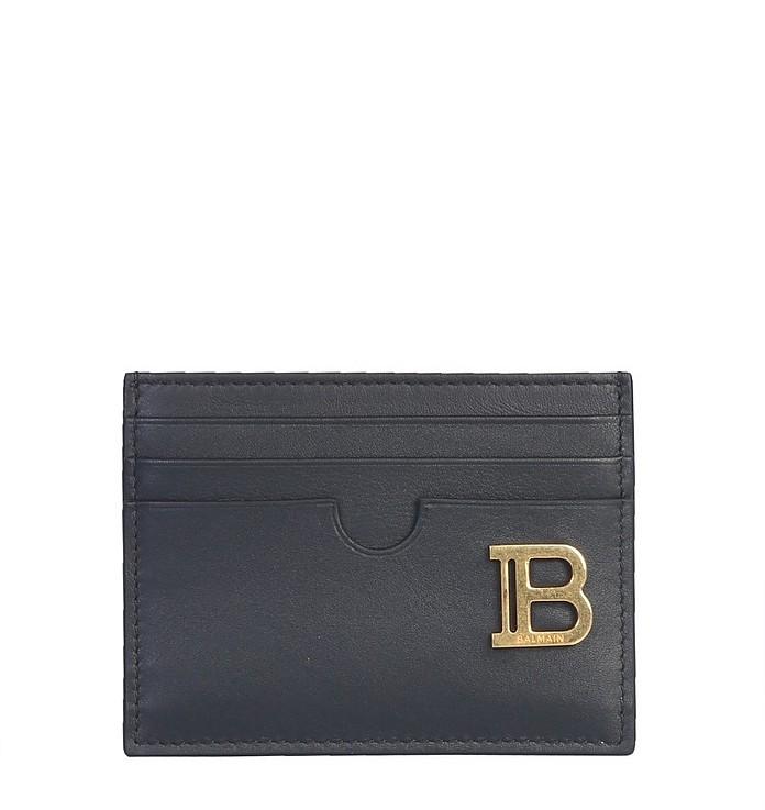 Card Holder With Logo - Balmain