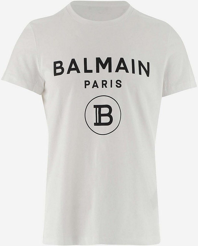 Men's Polo Shirt W/Short Sleeve - Balmain
