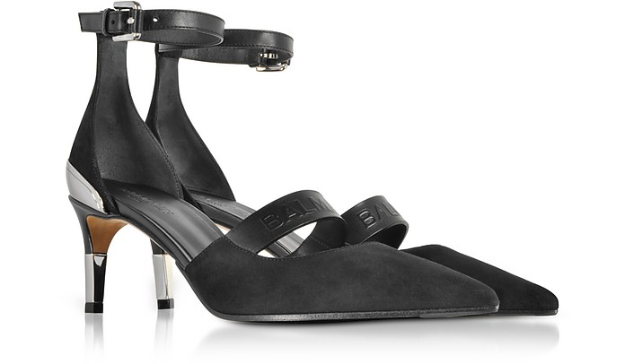Balmain Chance ankle strap pumps