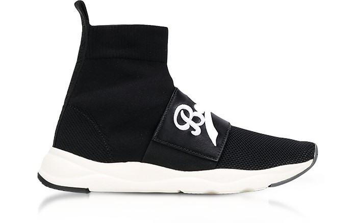 Cameron Black Signature Sock Sneakers - Balmain