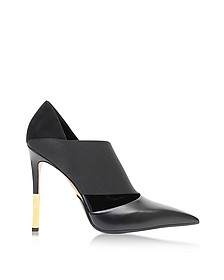 Audrey Black Leather Pump - Balmain