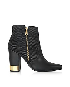 Anthea Black Quilted Leather Boots - Balmain