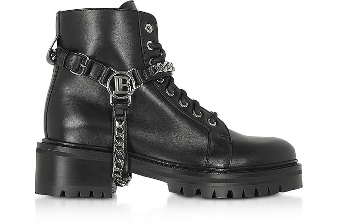 Black Ranger Muse Boots - Balmain