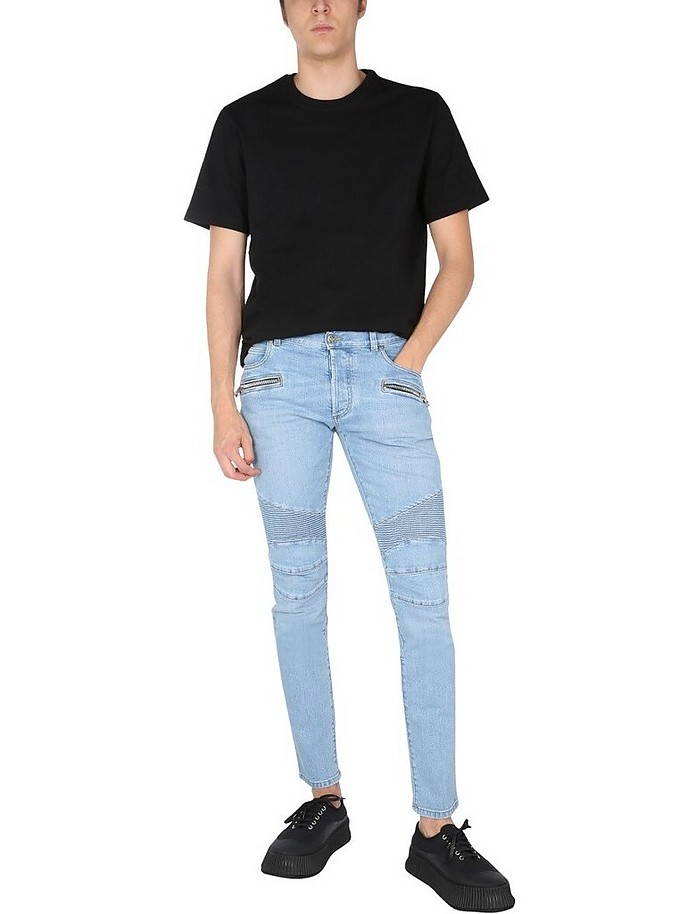 Slim Fit Jeans - Balmain