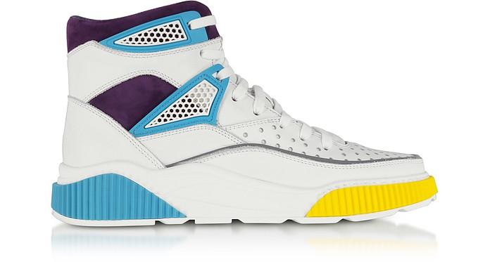 Kery Leather High Top Sneakers - Balmain