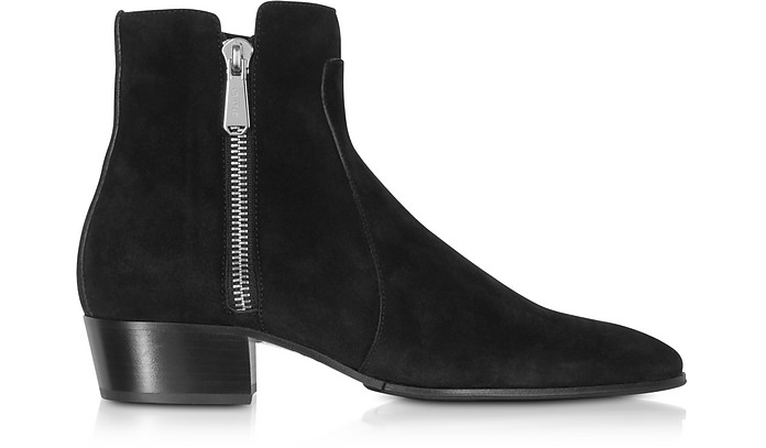 Mike Black Suede Men's Boots - Balmain