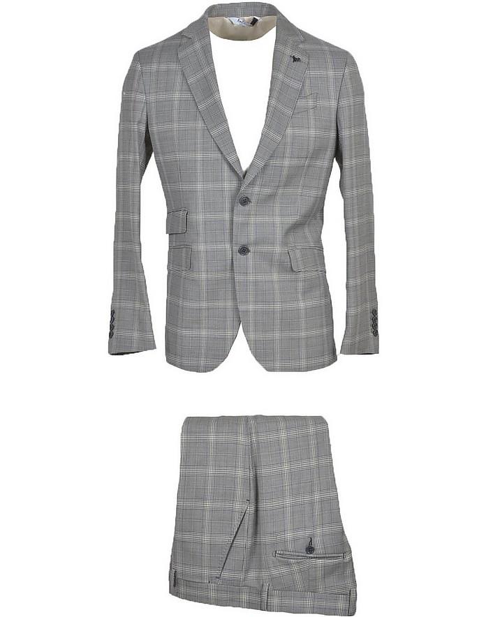 Bottega Martinese Men's Light Gray Dress