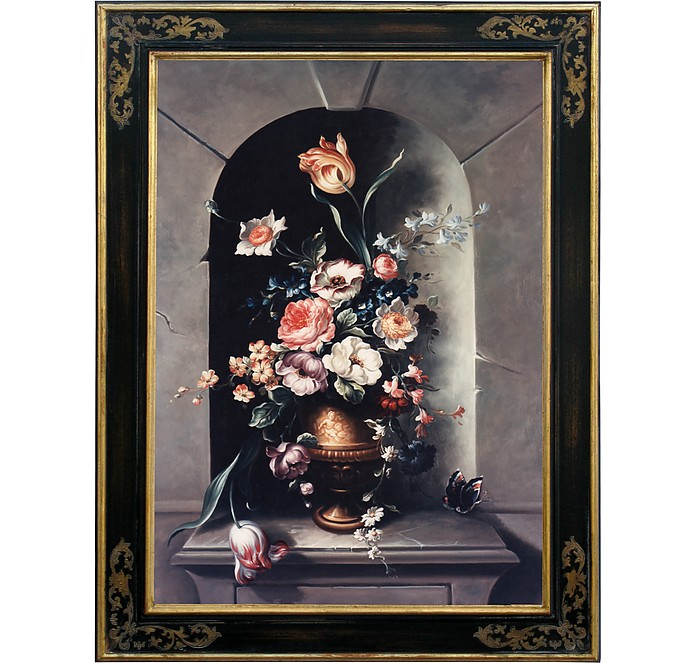 Oil on Canvas Still Life Painting - Bianchi Arte