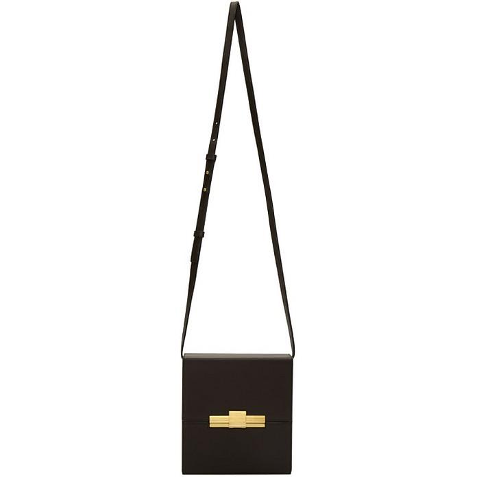Brown Daisy Cigarette Box Clutch Bag - Bottega Veneta