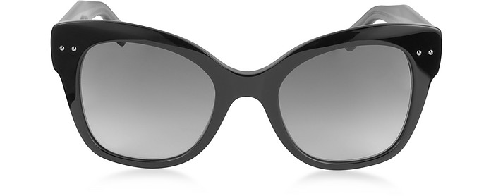 BV0083S Cat Eye Damen-Sonnenbrille aus Acetat - Bottega Veneta