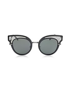 BV0094S Acetate Cat Eye Women's Sunglasses - Bottega Veneta