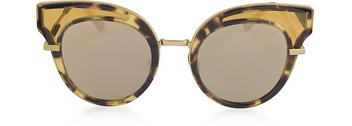 BV0094S Acetate Cat Eye Women's Sunglasses - Bottega Veneta / ボッテガヴェネタ