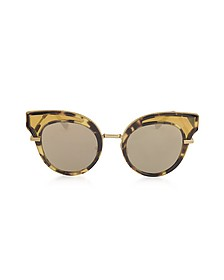 BV0094S Occhiali da sole Donna in Acetato Cat Eye - Bottega Veneta