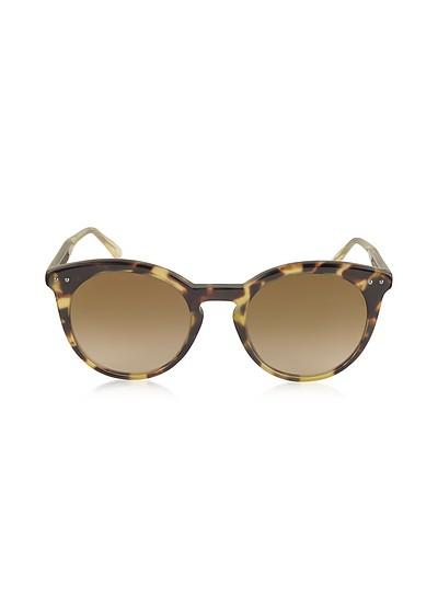 BV0096S Round Acetate Women's Sunglasses - Bottega Veneta