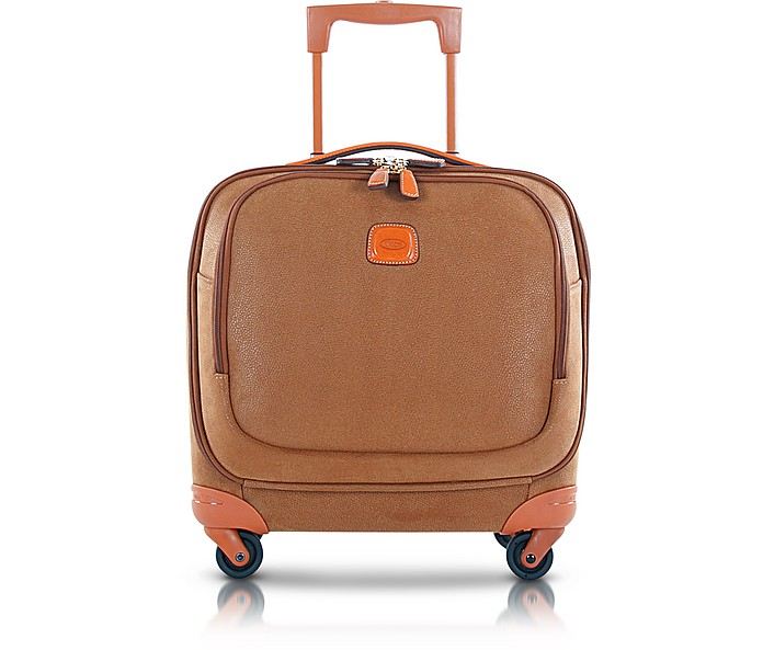 LIFE CAMEL MICRO SUEDE SMALL PILOT CABIN SPINNER