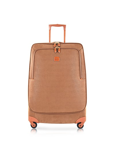 Life Camel Micro Suede Large Trolley - Bric's