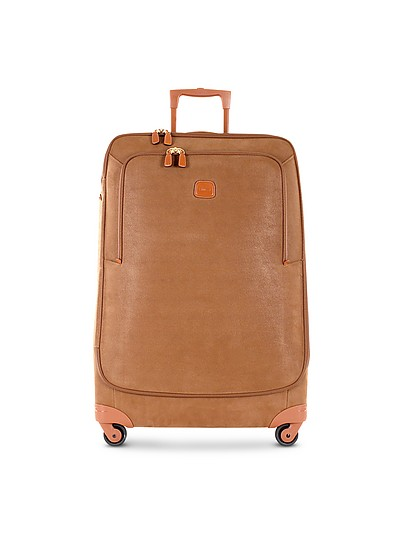 Life Camel Micro Suede X-Large Trolley - Bric's