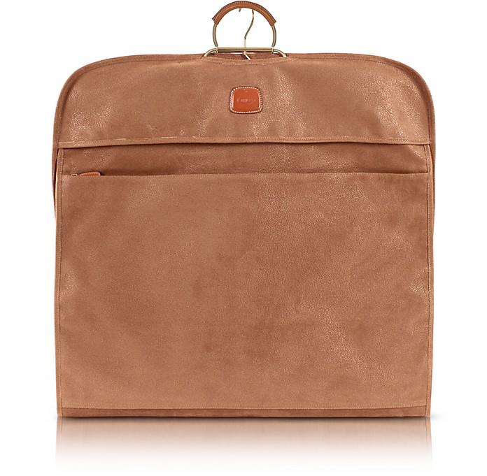 Life Camel Micro-Suede Garment Bag - Bric's / ブリックス