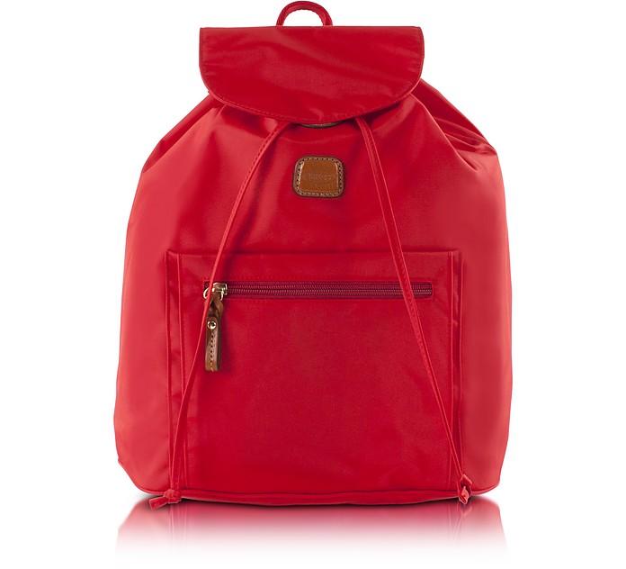 X-Travel Red Nylon Backpack - Bric's