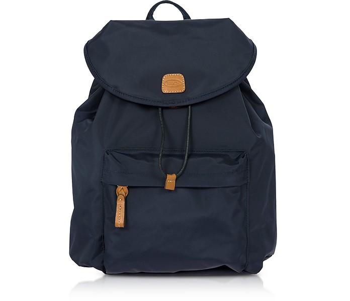 X-Travel Blue Nylon Backpack - Bric's
