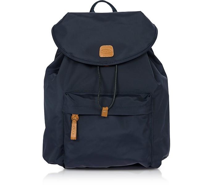 X-Travel Blue Nylon Backpack - Bric's / ブリックス