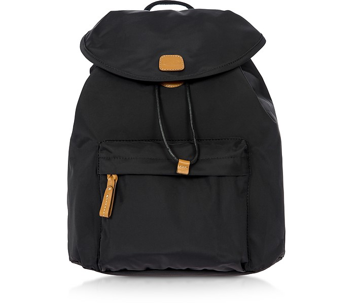 X-Travel Black Nylon Backpack - Bric's / ブリックス