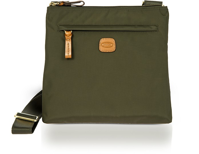 X-Bag Urban Envelope Crossbody aus Nylon und Leder - Bric's
