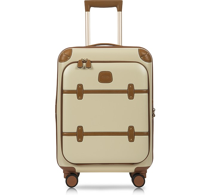 Bellagio Business V2.0 21 Cream Carry-On Spinner - Bric's