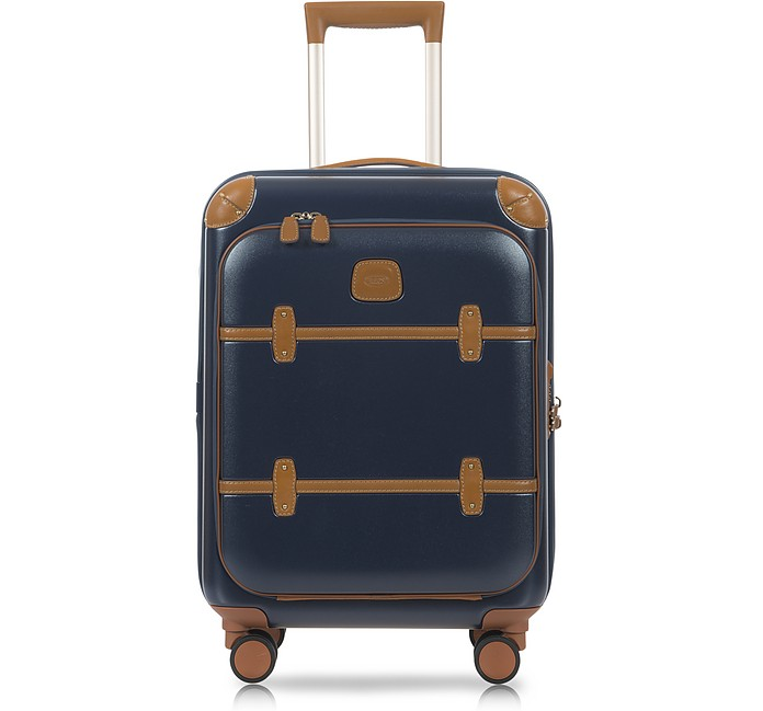 Bellagio Business V2.0 21 Blue-Tobacco Carry-On Spinner - Bric's