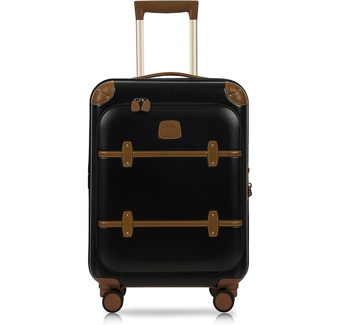 Bellagio Business V2.0 21 Black-Tobacco Carry-On Spinner - Bric's