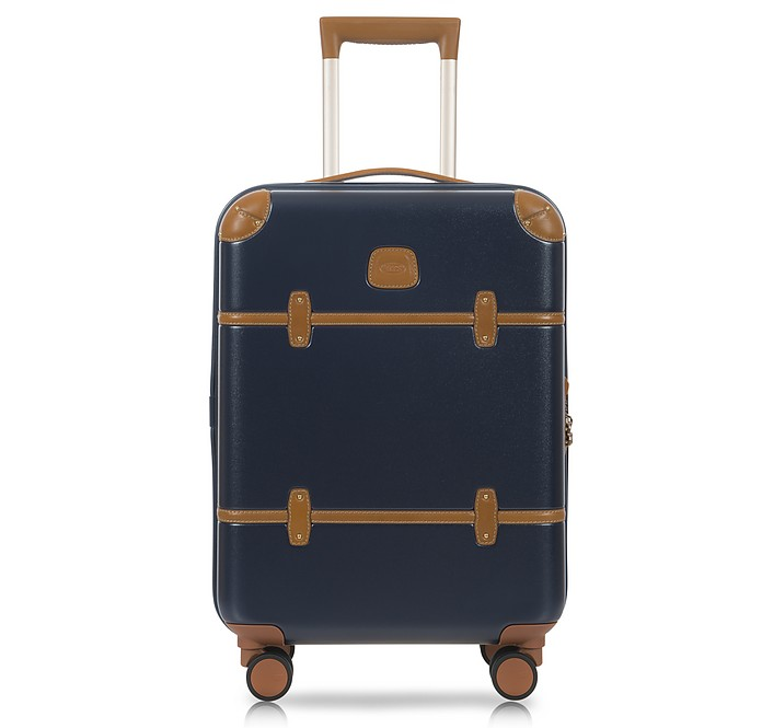 "Bellagio V2.0 21"" Carry-On Spinner Trunk in blau/tobacco - Bric's"
