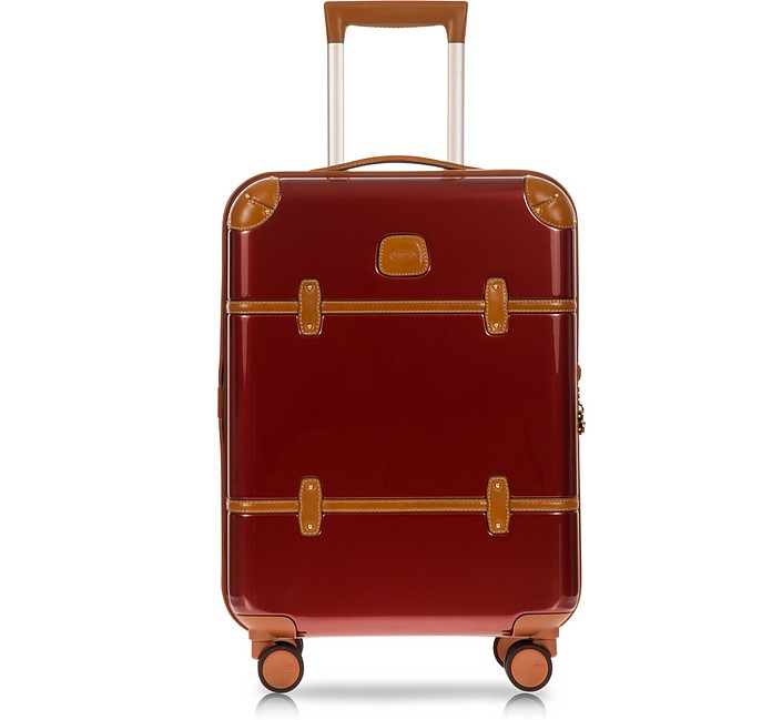 Bellagio V2.0 21 Red Carry-On Spinner Trunk - Bric's