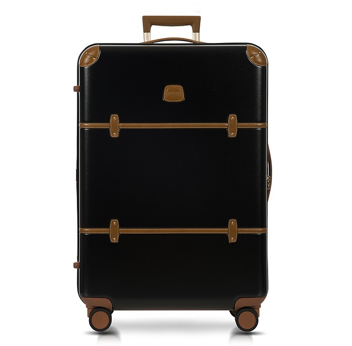 Bellagio V2.0 30 Black-Tobacco Spinner Trunk - Bric's