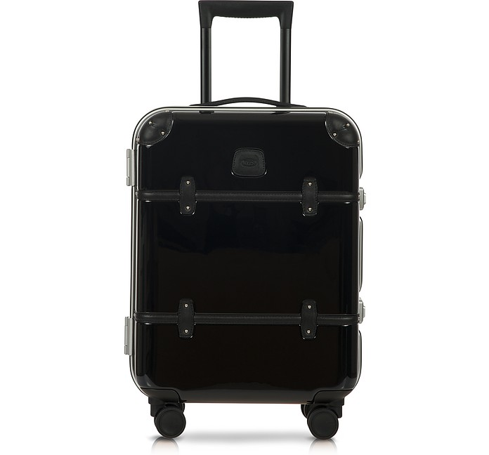 "Bellagio Metallo V2.0 21"" Black Carry-On Spinner Trunk - Bric's"