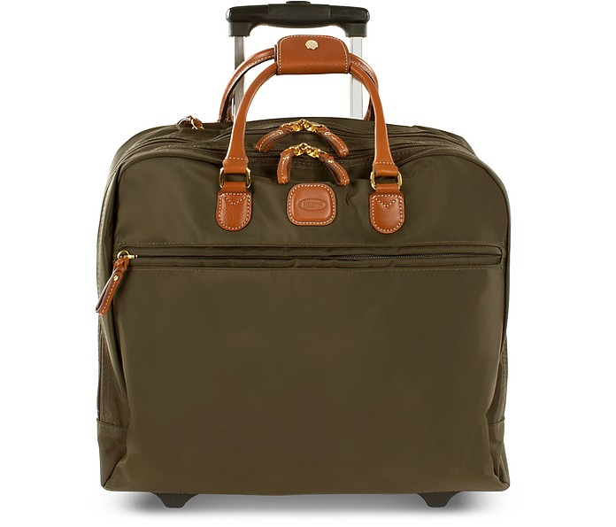 BRIC'S X-Travel Pilot Case - Green in Olive