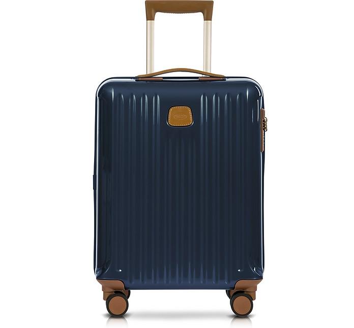 Capri Night Blue Polycarbonate Hard Case Cabin Trolley - Bric's / ブリックス