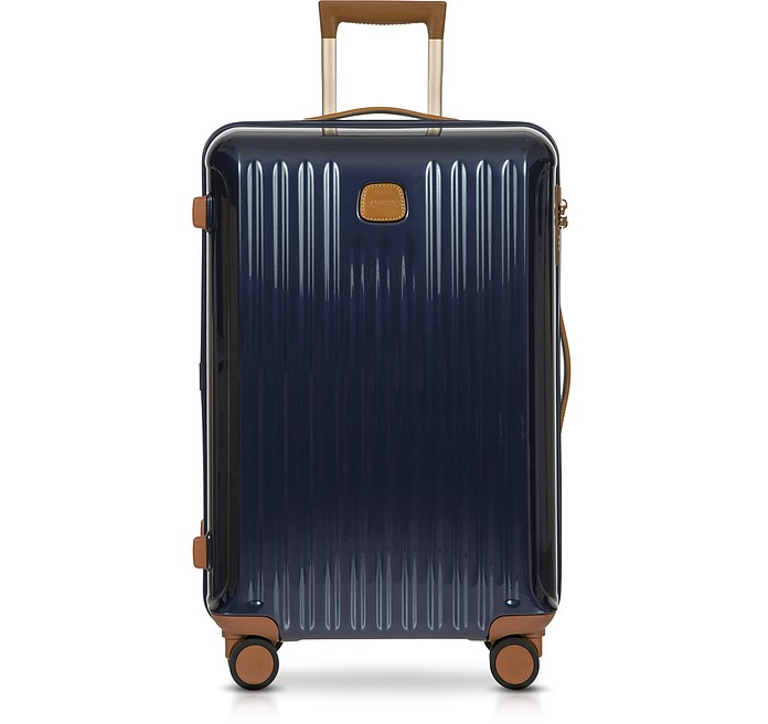 CAPRI NIGHT BLUE POLYCARBONATE MEDIUM TROLLEY