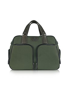 Pininfarina - Large Nylon and Leather Briefcase - Bric's