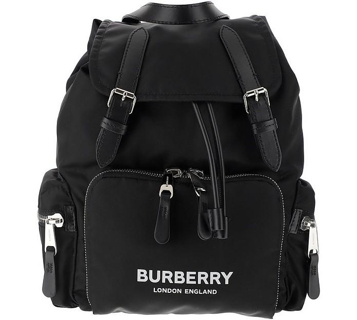 Rucksack Black Nylon Backpack  - Burberry