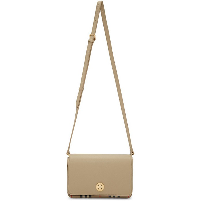 Beige Hampshire Shoulder Bag - Burberry